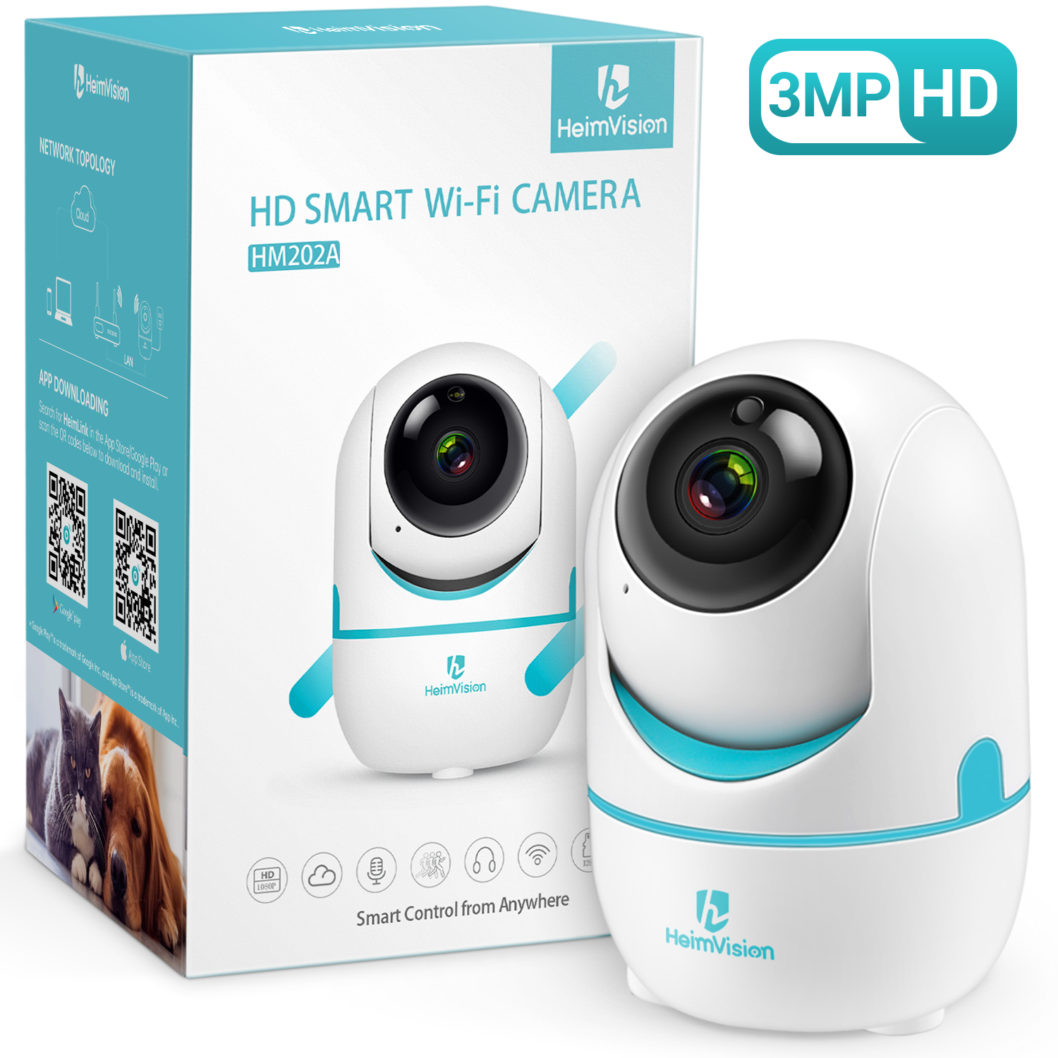 HeimVision HM202A Wireless Security Camera