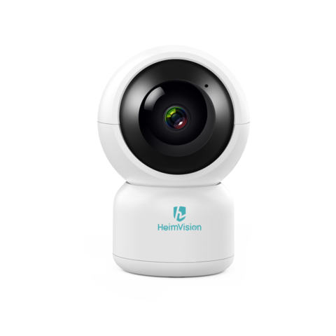 HeimVision - HM203 1080P Security Camera With Smart Night Vision Ptz Two-Way Audio 24GHz Wireless Home Surveillance IP Camera For Baby-Elder-Pet-Nanny Monitor Cloud Service MicroSD Support