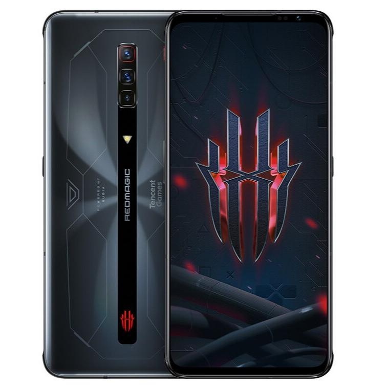 "New Arrival Nubia Red Magic 6S Pro 8GB RAM 128GB Storage Gaming 5G Phone 6.8"" 2400x1080P AMOLED 165Hz Qualcomm SD888 Plus 4500mAh 120W Fast Charging Black - CN Version"