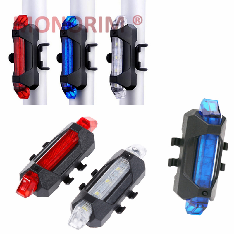 Monorim Electric Scooter M365 Pro Night Riding Safety Decoration Light Scooter Warning LED Light With Flashlight Light - Red