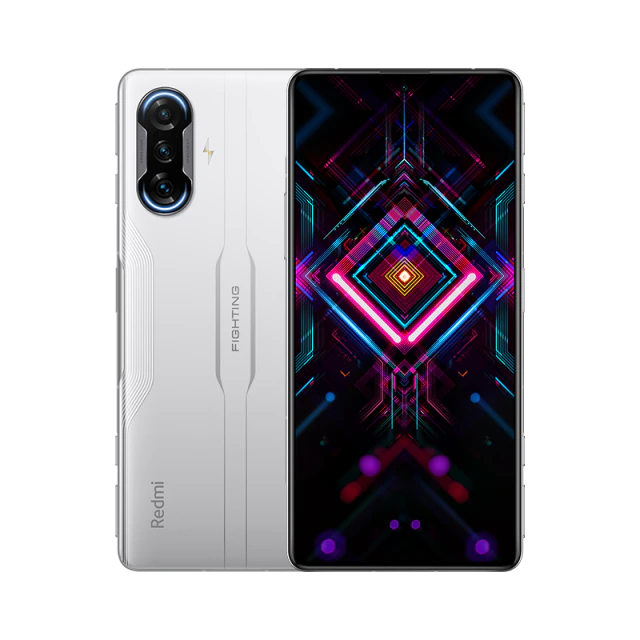 Xiaomi Redmi K40 Gaming Edition CN Version 6.67 Inches 5G LTE Smartphone MediaTek Dimensity 1200 8GB 128GB Triple Rear Cameras 64.0MP + 8.0MP + 2.0MP MIUI 12 Android 11 NFC Fingerprint 67W Fast Charge - White