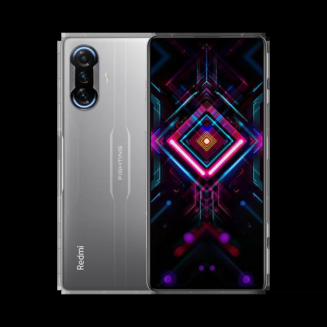 Xiaomi Redmi K40 Gaming Edition CN Version 6.67 Inches 5G LTE Smartphone MediaTek Dimensity 1200 8GB 128GB Triple Rear Cameras 64.0MP + 8.0MP + 2.0MP MIUI 12 Android 11 NFC Fingerprint 67W Fast Charge - Silver