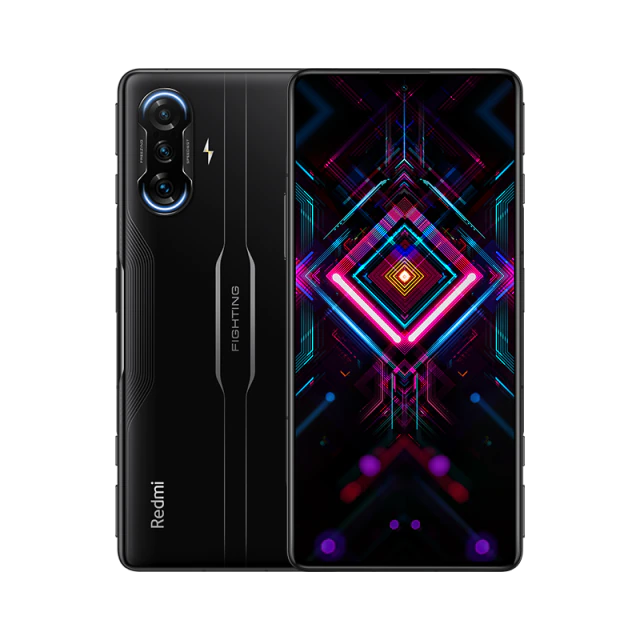 Xiaomi Redmi K40 Gaming Edition CN Version 6.67 Inches 5G LTE Smartphone MediaTek Dimensity 1200 8GB 128GB Triple Rear Cameras 64.0MP + 8.0MP + 2.0MP MIUI 12 Android 11 NFC Fingerprint 67W Fast Charge - Black