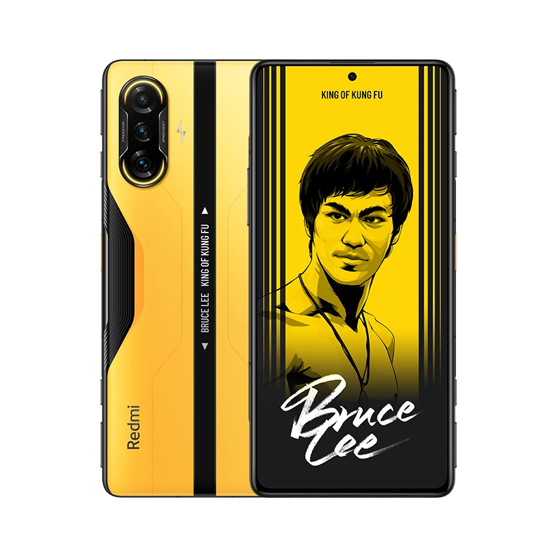 Xiaomi Redmi K40 Gaming Edition CN Version 6.67 Inches 5G LTE Smartphone MediaTek Dimensity 1200 8GB 128GB Triple Rear Cameras 64.0MP + 8.0MP + 2.0MP MIUI 12 Android 11 NFC Fingerprint 67W Fast Charge - Bruce Lee