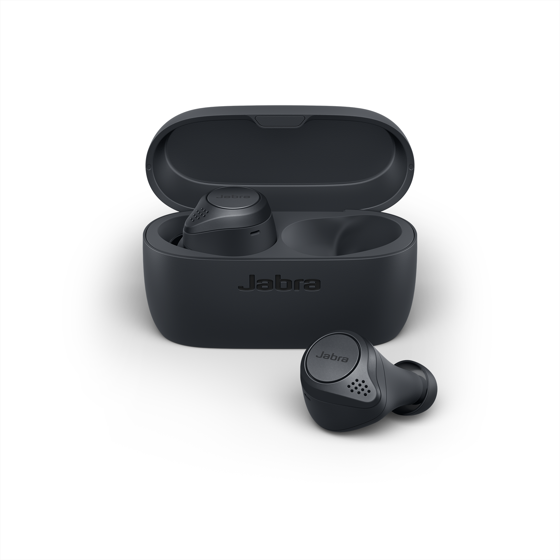Jabra Elite Active 75t Earbuds – Active Noise Cancelling True Wireless Sports Earphones with Long Battery Life for Calls and Music – Gray