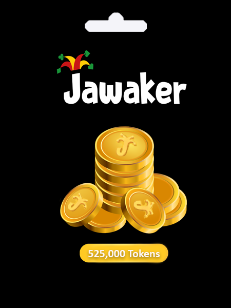 JAWAKER 525000 TOKEN - Email Delivery