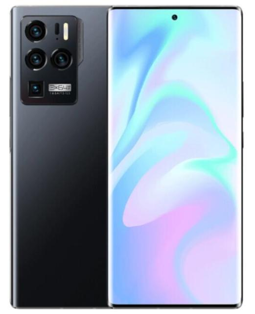 Global Version Official ZTE Axon 30 Ultra 5G Mobile Phone 6.67inch AMOLED Screen Snapdragon 888 Octa Core 65W Fast Charging 64MP 8GB RAM 128GB Storage