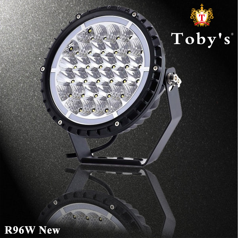 Extreme Brighter R 96W New 9 Inch Work Light for Jeep-Wrangler
