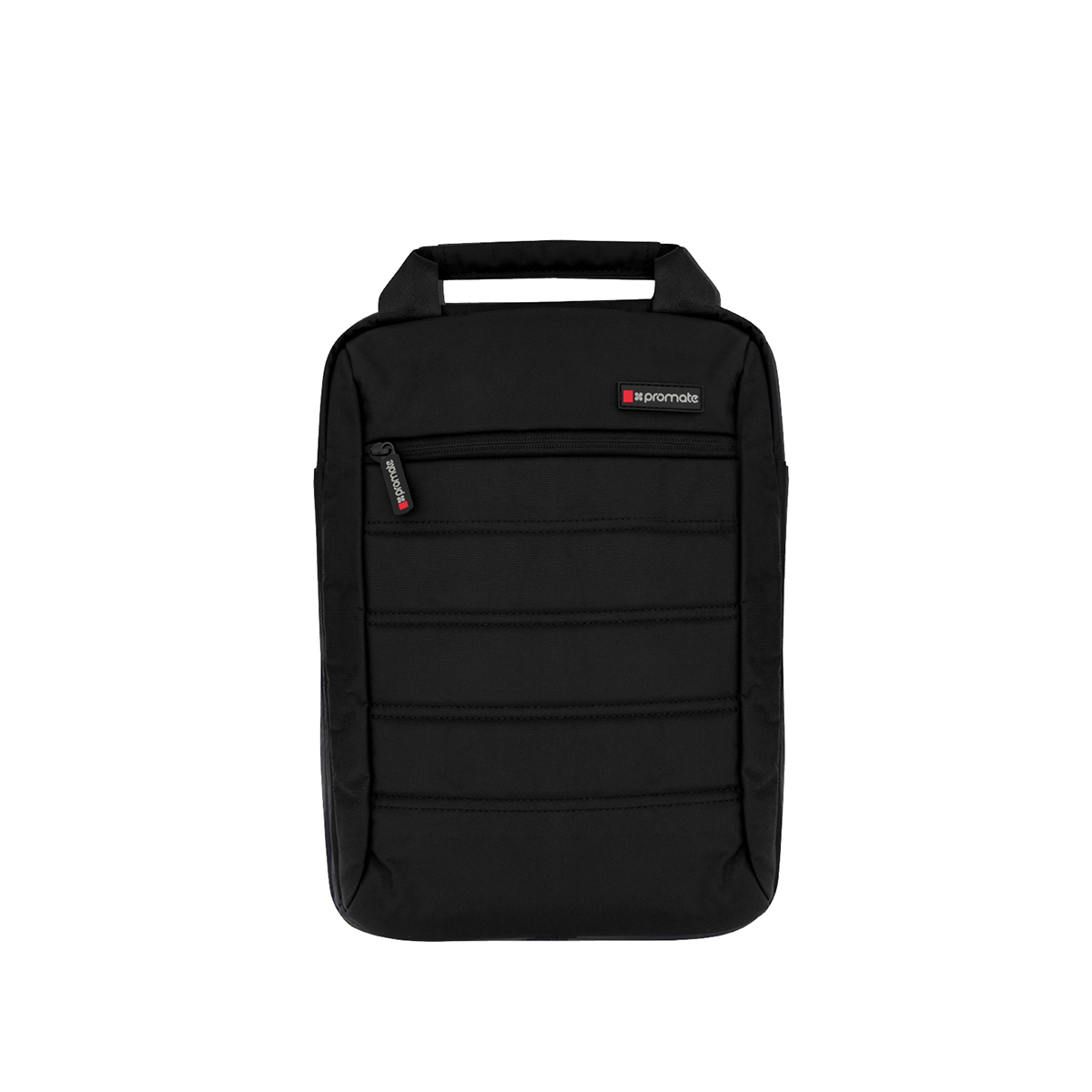 Promate Heavy Duty Messenger Bag for iPad Tablet Laptop upto 13.3 inches, Rebel-MB Black
