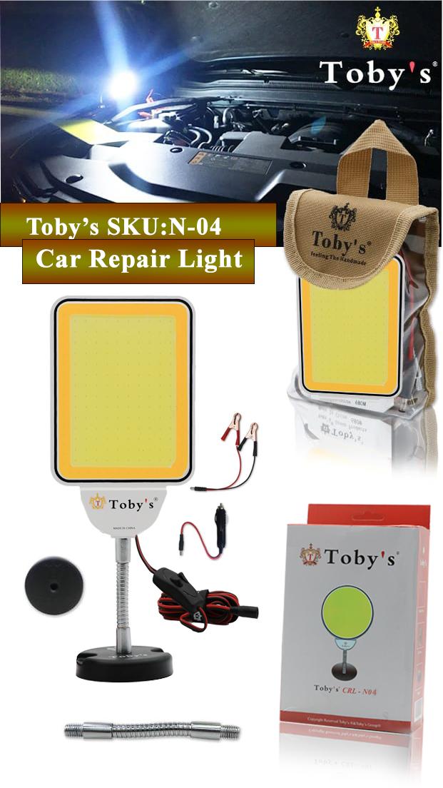 Tobys CRL N4 Multi-Functional Car Repair Light 12V Voltage Operating Light white & yellow