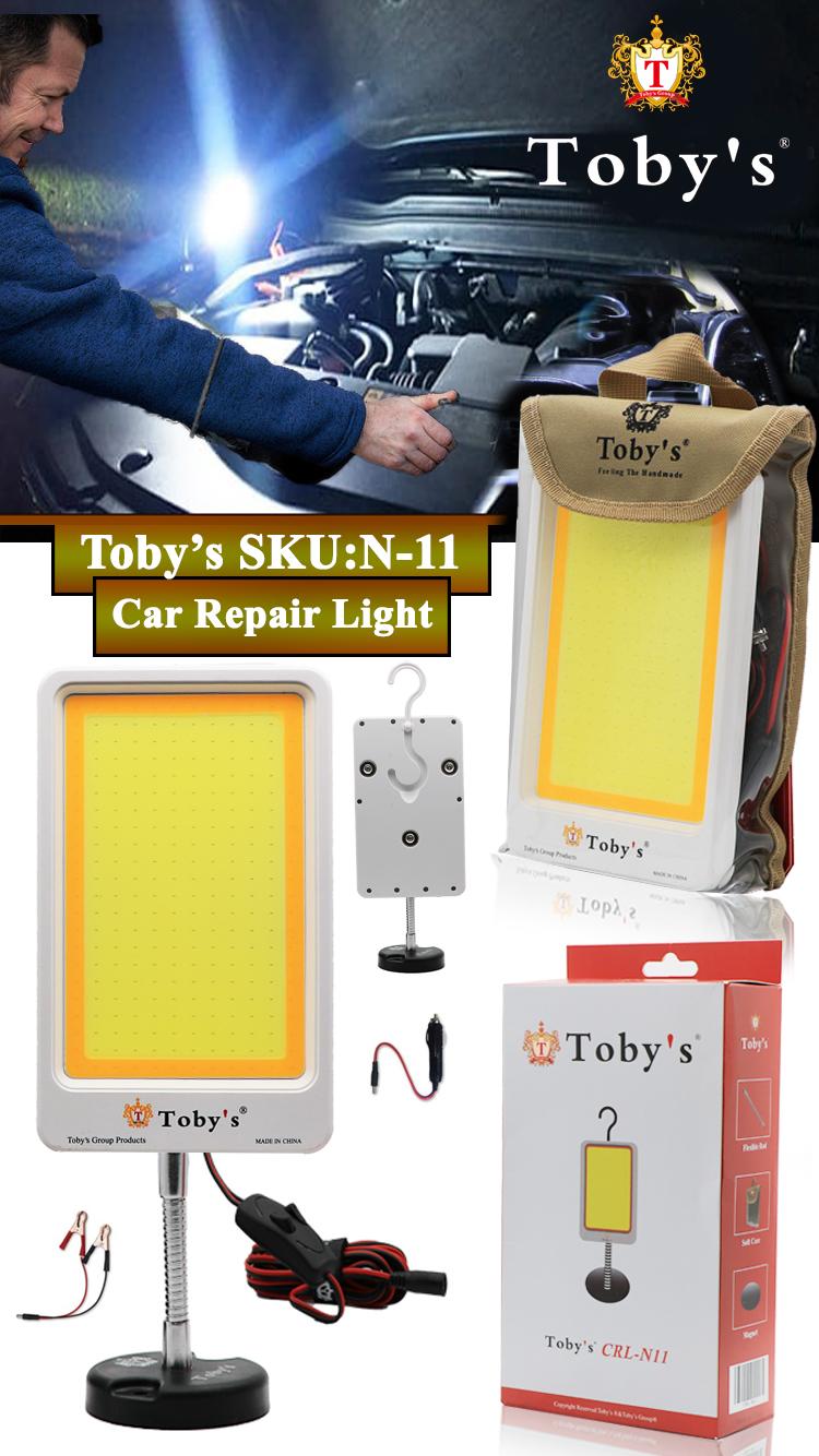 Tobys CRL N11 Multi-Functional Car Repair Light 12V and 24V Dual Voltage Operating Light