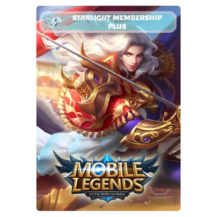 MOBILE LEGENDS - STARLIGHT MEMBERSHIP PLUS CARD (EMAIL DELIVERY)