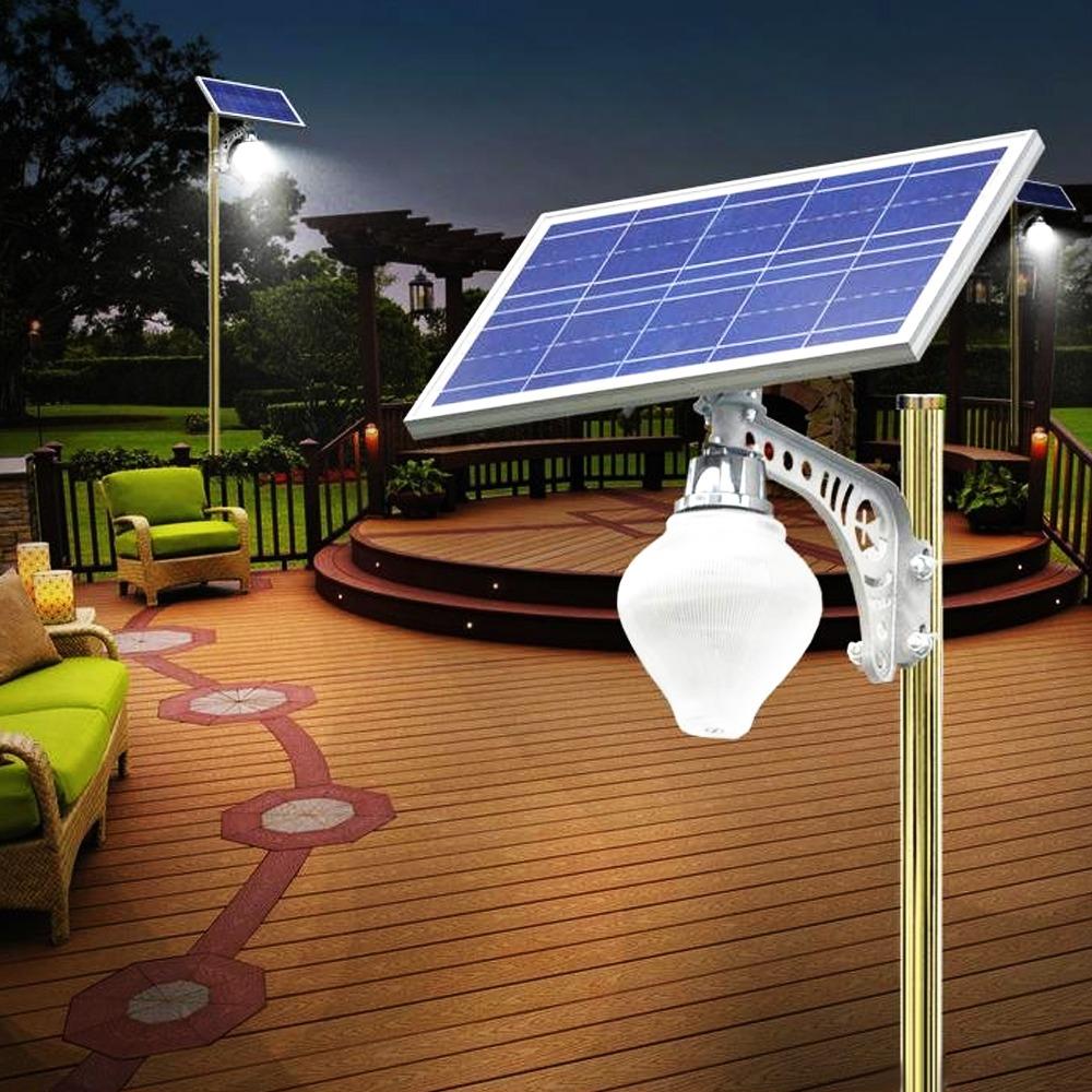 Solar Light BCT-OLP1.0 Peach Design Solar Light
