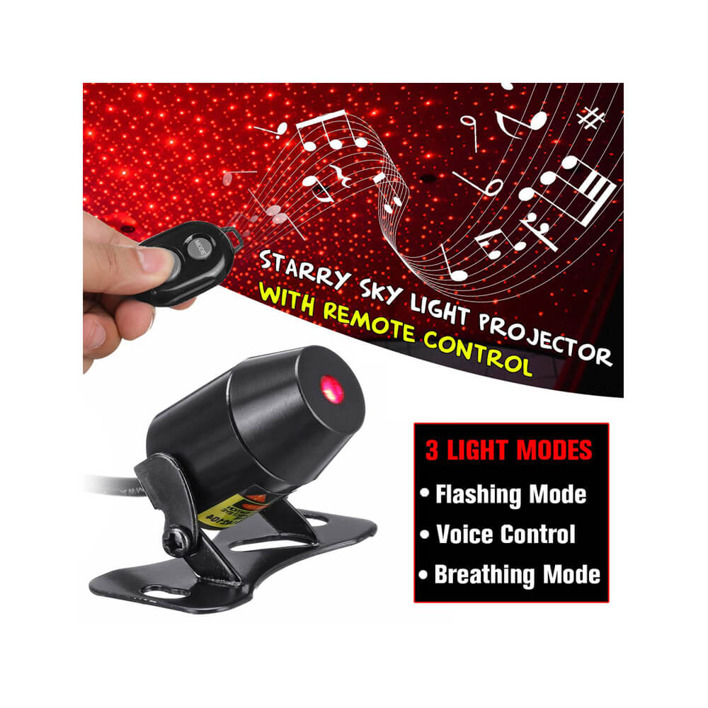 TBS Star Lights Starry Sky And Meteoric Light 3 in 1 Function With Remote Control