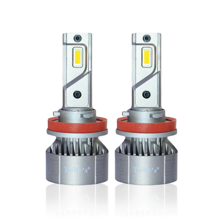 TF3 H11 LED Headlight Bulbs 450W, 6500K, ZES Technology, Conversion KIT