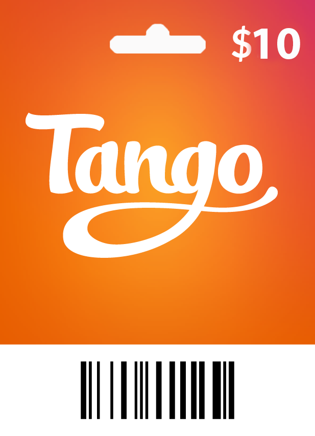 Tango $10 - 1200 Coins - Email Delivery