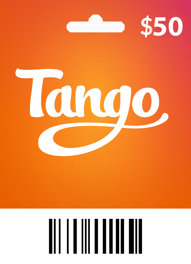 Tango $50 - 6500 Coins - Email Delivery