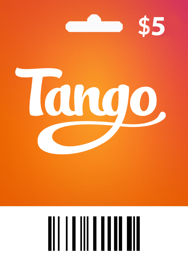 Tango $5 - 600 Coins - Email Delivery