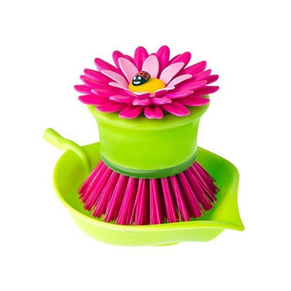 Vigar Flower Power Palm Dish Brush