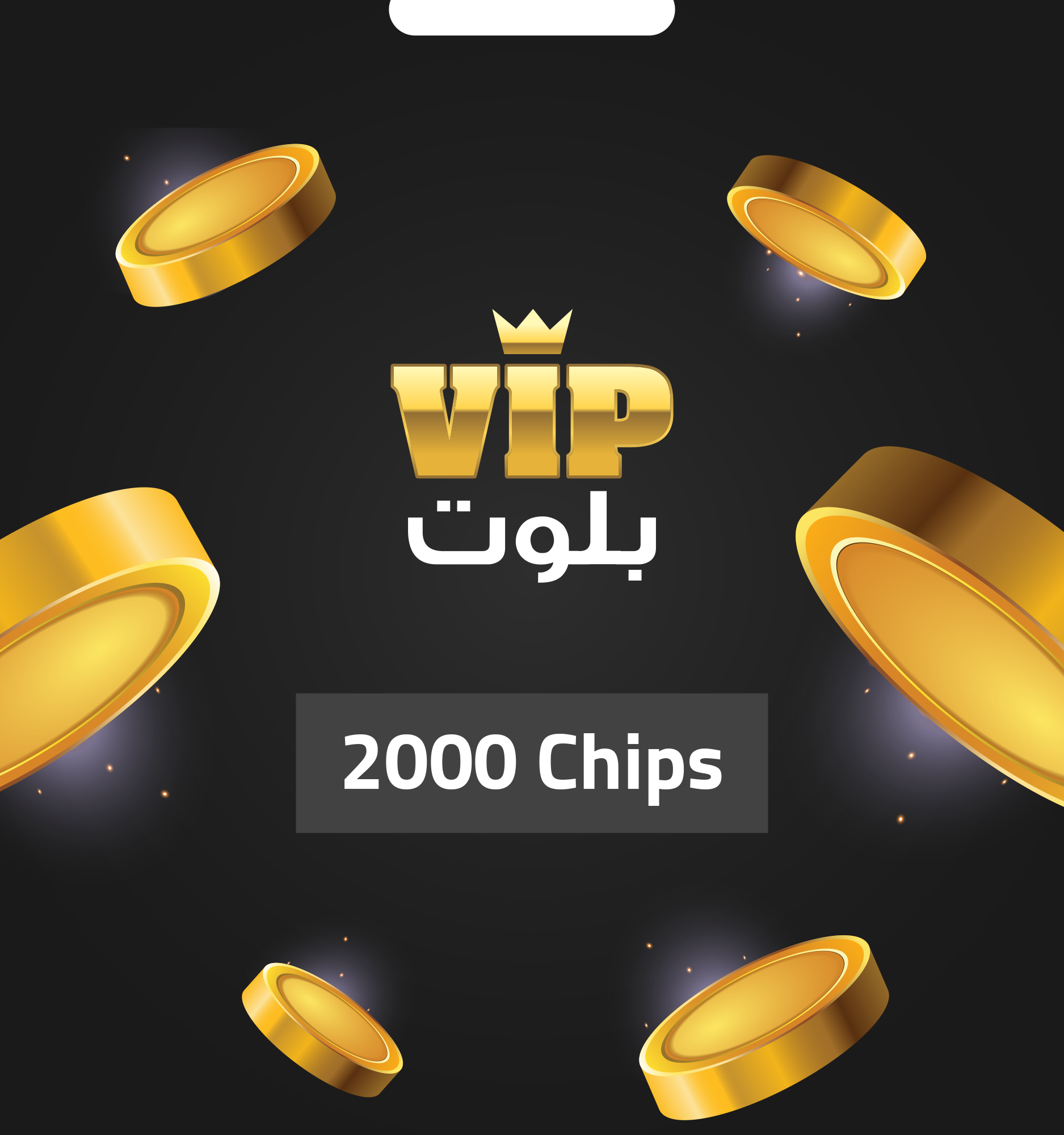 VIP BALOOT 2000 CHIPS - Email Delivery