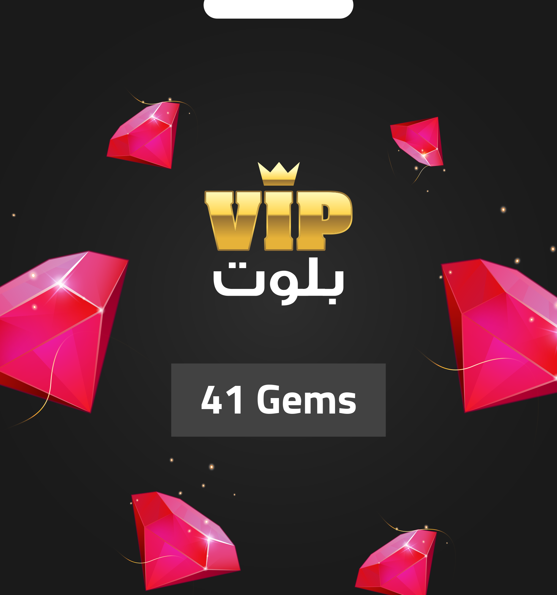 VIP BALOOT 41 Gems - Email Delivery