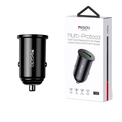 Yesido Fast Charging Lighter Charger Y38