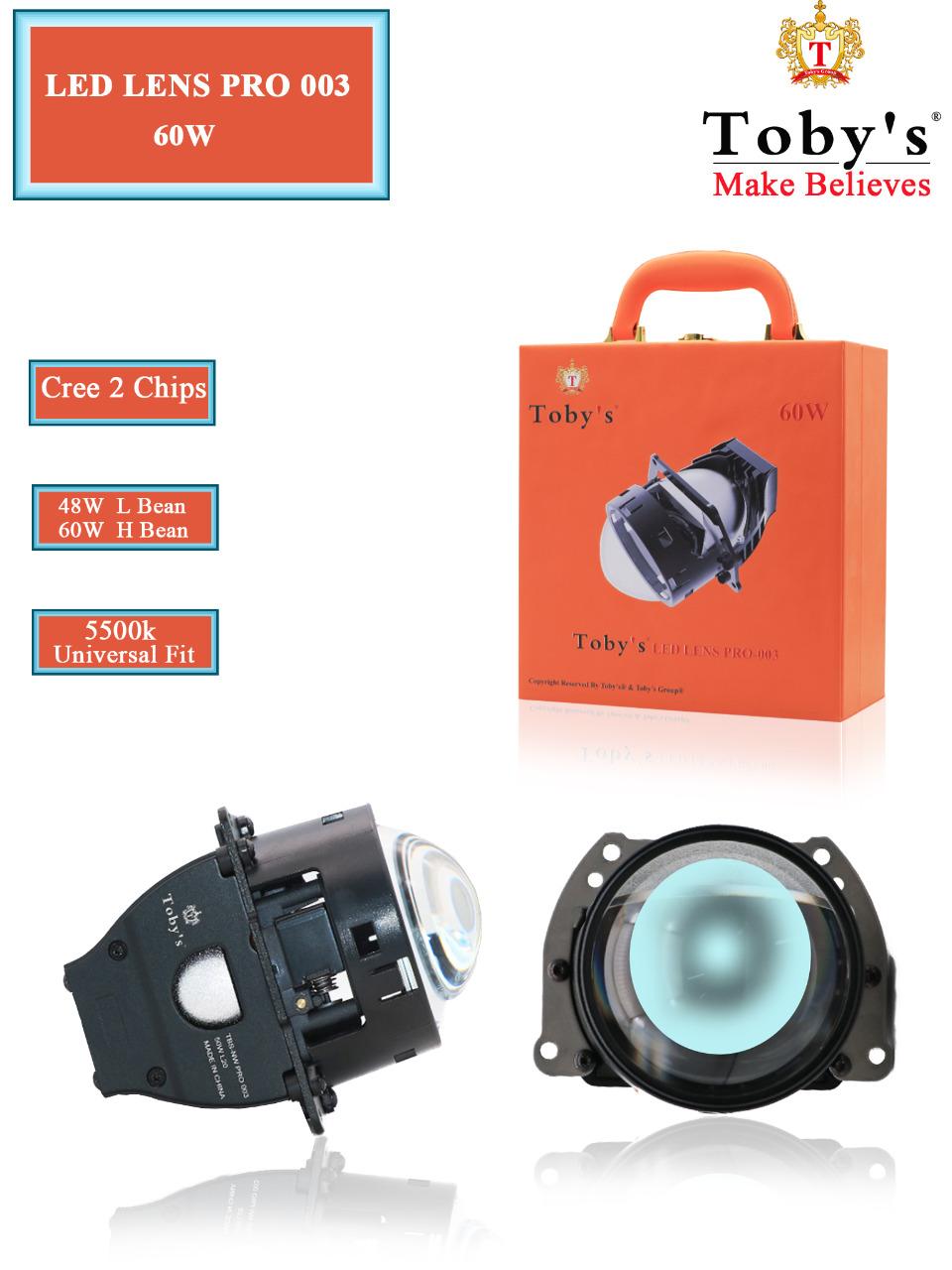 PRO 003 Projector Lens Universal fit 5500k HID Headlight