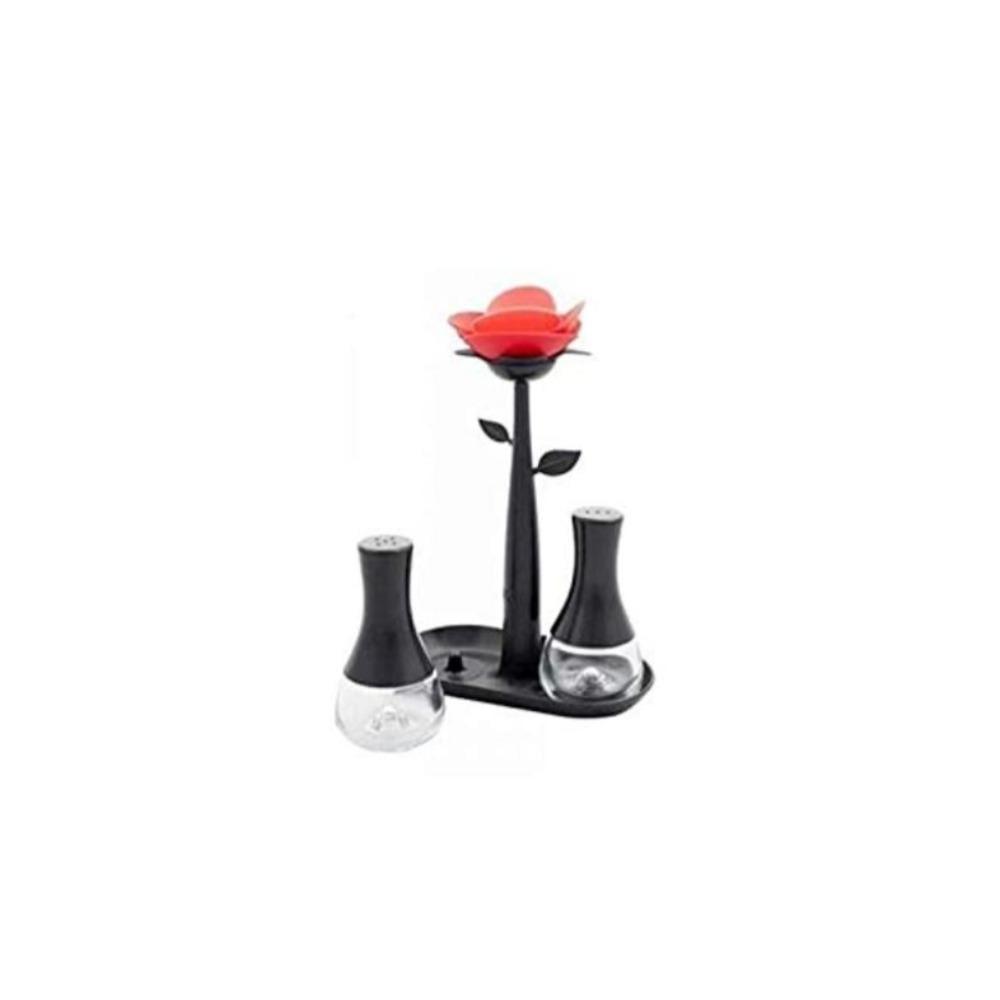 Vigar Rose Black Salt & Pepper Set