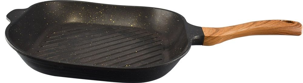 NEOKLEIN 30CM BLACK GRILL PAN