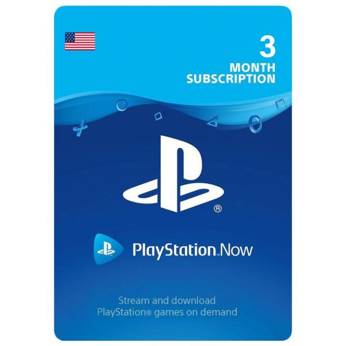 PlayStation Now 3 Month Subscription (US) - Email Delivery