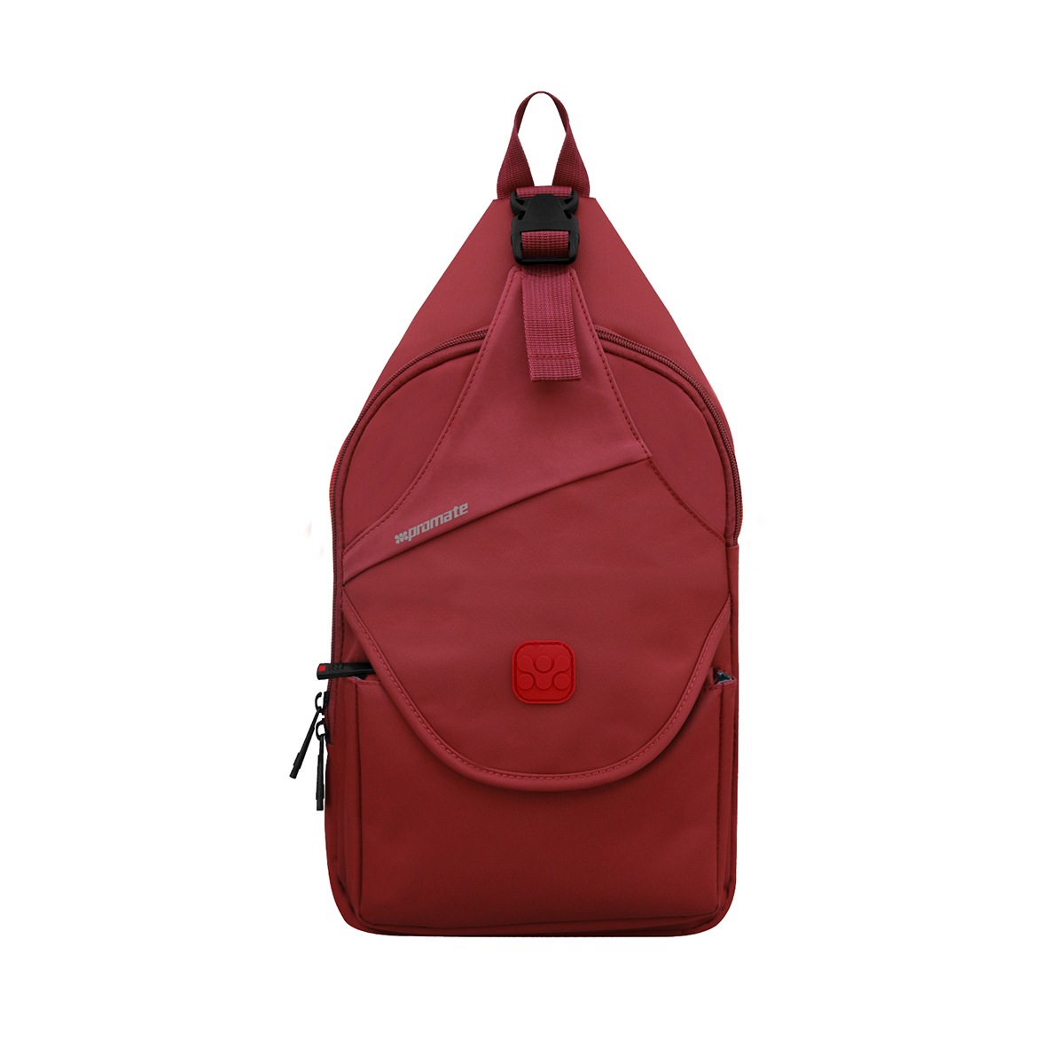 Promate Tablet Sling Bag For Tablets Up To 10.1 Inch, Promate TabSling-Red