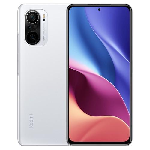 Xiaomi Redmi K40 CN Version 6.67 Inches 5G LTE Smartphone Snapdragon 870 6GB 128GB Triple Rear Cameras 48.0MP + 8.0MP + 5.0MP MIUI 12 Android 11 NFC Fingerprint Fast Charge - White