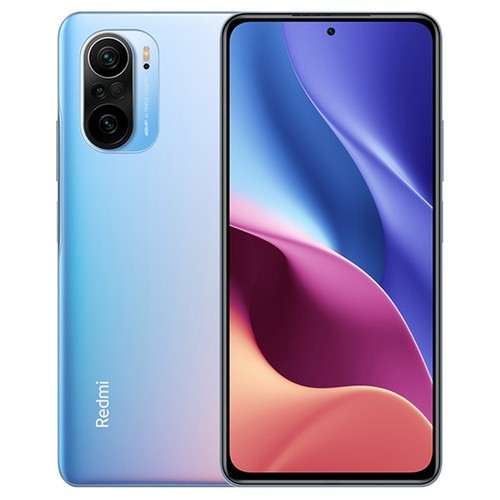 Xiaomi Redmi K40 CN Version 6.67 Inches 5G LTE Smartphone Snapdragon 870 6GB 128GB Triple Rear Cameras 48.0MP + 8.0MP + 5.0MP MIUI 12 Android 11 NFC Fingerprint Fast Charge - Blue